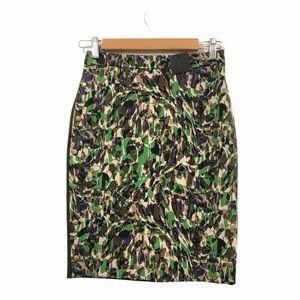 Club Monaco Carey Pencil Skirt Multicolored 00